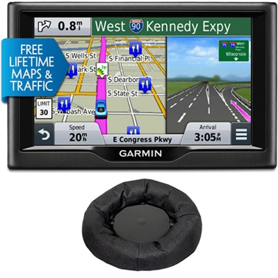 nuvi 58LMT 5` Essential Series 2015 GPS Navigation System Maps & Traffic Bundle