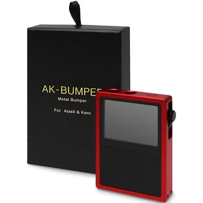 AK-Bumper - Metal Bumper Case for Astell & Kern AK120 (Red)
