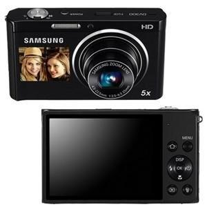 DV300F 16 MP 5X Wi-Fi Dual View  Digital Camera - Black