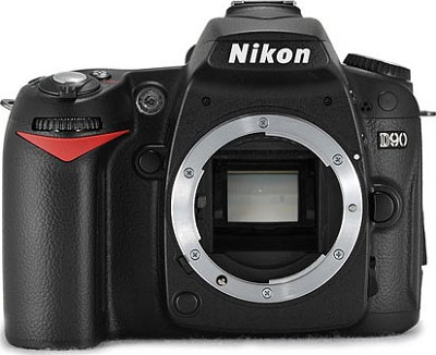 D90 DX-Format Digital SLR Camera Body (Lens Not Included)