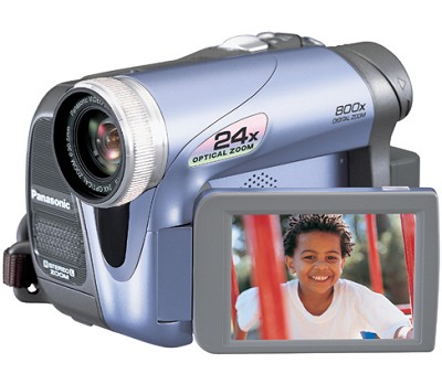 PV-GS19 Digital Palmcorder with 24x Optical Zoom and 800x Digital Zoom
