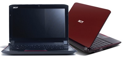 Aspire one 10.1` Netbook PC - Red (AO532H-2406)