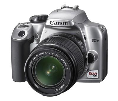 EOS Digital Rebel XS 1000D w/ EF-S 18-55mm IS Lens (Silver)
