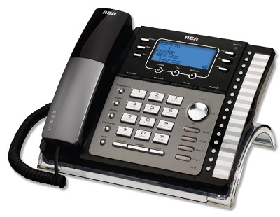 4-Line Business Speaker Phone with Auto Attendant and Digital Answering System