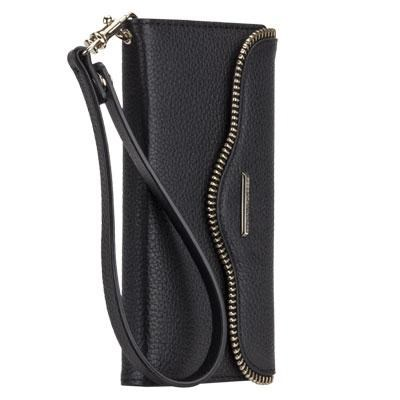 Rebecca Minkoff Leather Folio in Black for iPhone 6 Plus - CM032241