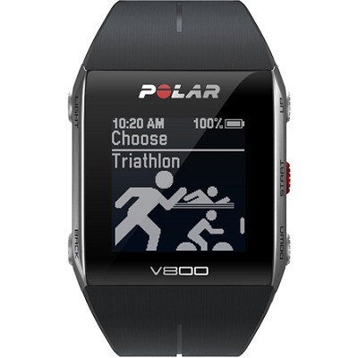 V800 GPS Sports Watch, Black (90050553)