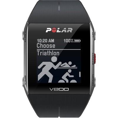 V800 GPS Sports Watch, Black (90050553)