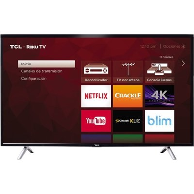 49S405 49-Inch Class S-Series 4K Ultra HD Roku Smart LED TV (2017 Model)