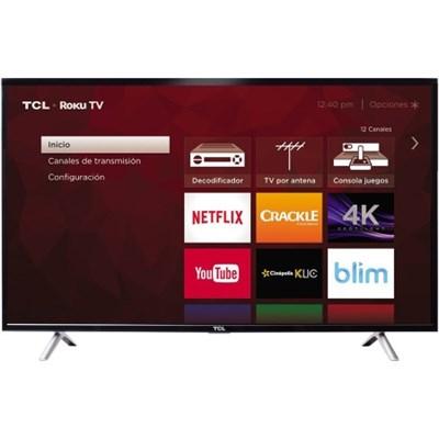 49S405 49-Inch Class S-Series 4K Ultra HD Roku Smart LED TV (2017 Model)