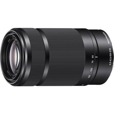 SEL55210 - 55-210mm Zoom Lens (Black) - OPEN BOX