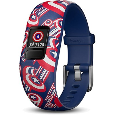 Vivofit jr. 2 Adjustable Captain America Activity Tracker for Kids 010-01909-32