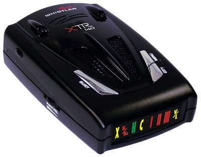 XTR-140 Laser/Radar Detector with Exclusive Twin-Alert Periscopes