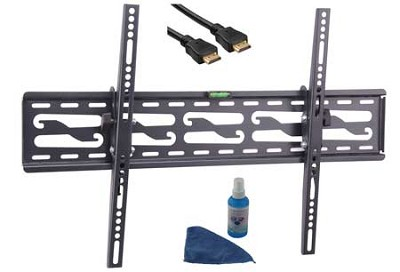 4 piece tilting mounting kit for 32-72 inch tvs