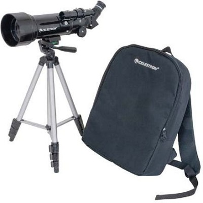 Travel Scope 70 Portable Refractor Telescope (TS70 with Solar Filter) OPEN BOX