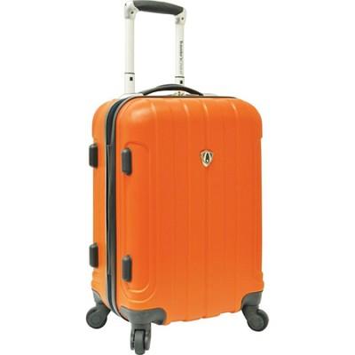 Traveler?s Choice Cambridge 20` Hardsided Carry-On Spinner, Orange