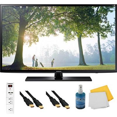 UN40H6203 - 40` HD 1080p Smart TV Clear Motion Rate 240 Plus Hook-Up Bundle