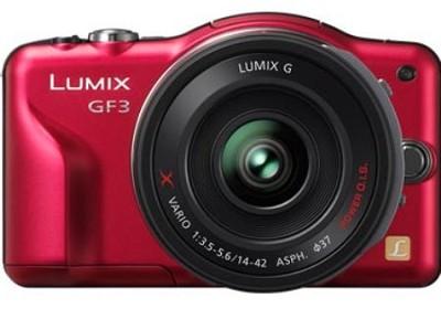 Lumix DMC-GF3X 12.1 MP Micro Four Thirds Compact PZ 14-42mm Lens    OPEN BOX