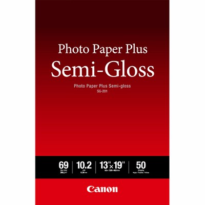 Photo Paper Plus Semi-Gloss SG201 13 x 19 (50 pcs) -OPEN BOX