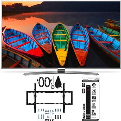55UH7700 55-Inch Super UHD 4K Smart TV w/ webOS 3.0 Flat/Tilt Wall Mount Bundle