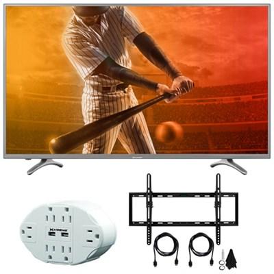Aquos N5300 Full HD 55` Class 1080p 60Hz WiFi Smart LED TV w/ Mount Bundle