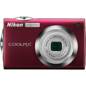 COOLPIX S4000 Digital Camera (Red)