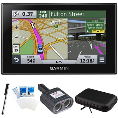 nuvi 2689LMT Advanced Series 6` Display GPS Navigation System Bundle