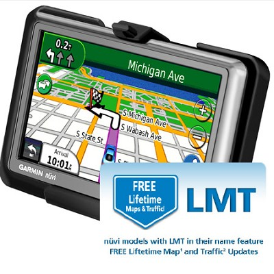 Nuvi 1450 LMT 5 inch GPS with Free Lifetime Maps and Traffic Updates