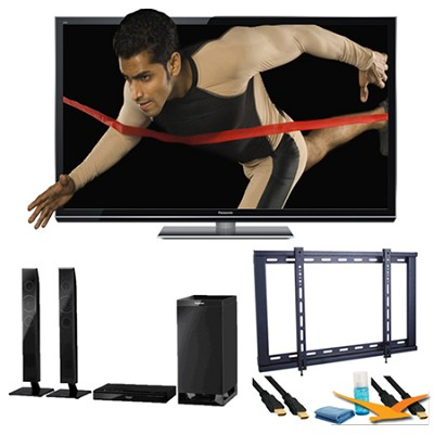 65` TC-P65GT50 SMART VIERA 3D FULL HD (1080p) Plasma TV Speaker Bundle