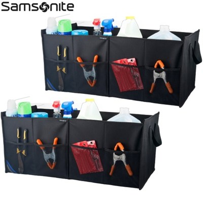 Trunk Organizer for Tools, Emergency Gear, Groceries and more (Two Pack)