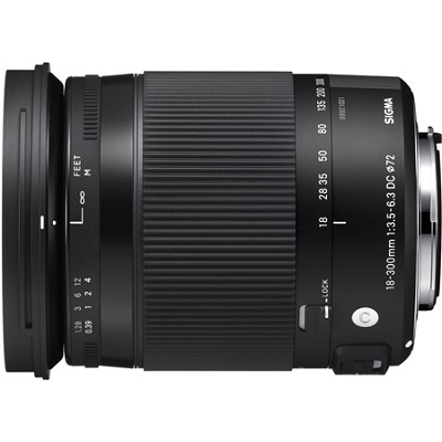 18-300mm F3.5-6.3 DC Macro OS HSM Lens (Contemporary) for Nikon DX Cameras