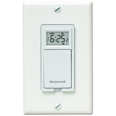 7-Day Programmable Light Switch Timer - White (RPLS530A1038/U)