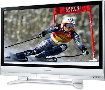 TH-50PX60U 50` high-definition Plasma TV w/ SD memory card slot