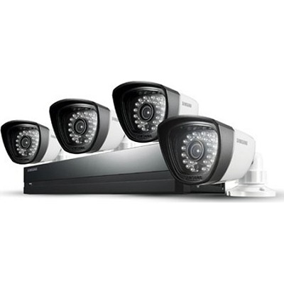 8CH 4 IP66 720TVL Cameras DVR Security System with 500GB HDD