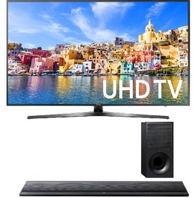 UN65KU7000 - 65` Class KU7000 7-Series 4K UHD TV + HTCT390 Soundbar