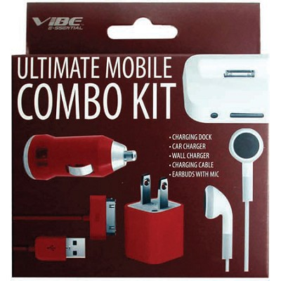 Ultimate Mobile Combo Kit - Red