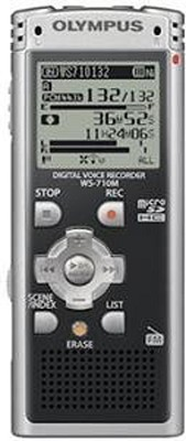 WS-710M Digital Voice Recorder (Black) REFURBISHED