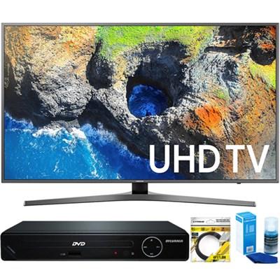 65` 4K Ultra HD Smart LED TV (2017 Model) +HDMI DVD Player Bundle