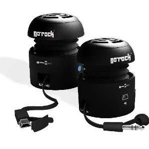 Go-Rock Mini Portable Speaker for iPod/MP3 Players and Laptops