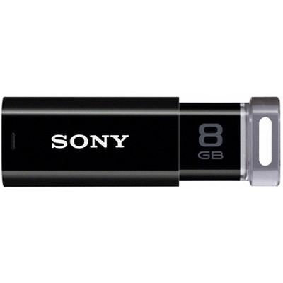 8 GB Micro Vault P-Series Black USB 2.0 Flash Drive w/ Virtual Expander USM8GP/B