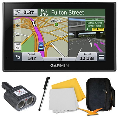 nuvi 2789LMT Advanced Series 7` Display GPS Navigation System Bundle