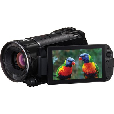 VIXIA HF S30 32GB Flash Memory HD Camcorder w/ 3.5` Touchscreen