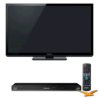 50` VIERA 3D FULL HD (1080p) Plasma TV - TC-P50GT30 KIT