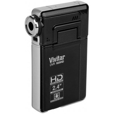 12.1 MP HD Digital Camera w/ 2.4 TFT - Black - (DVR925HD-BLK-BOX)