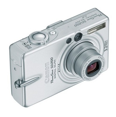 Powershot SD200 Digital ELPH Camera