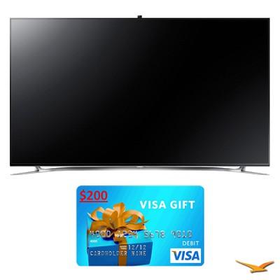 UN75F8000 75` 1080p 240hz 3D Smart WiFi LED HDTV Bundle