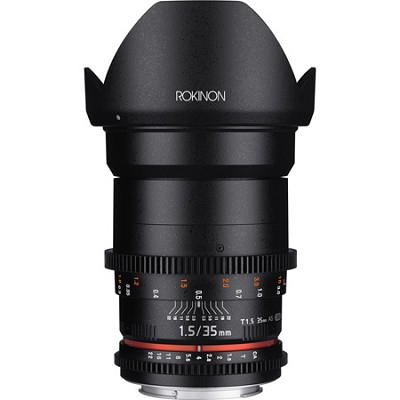 DS 35mm T1.5 Full Frame Wide Angle Cine Lens for Sony E Mount