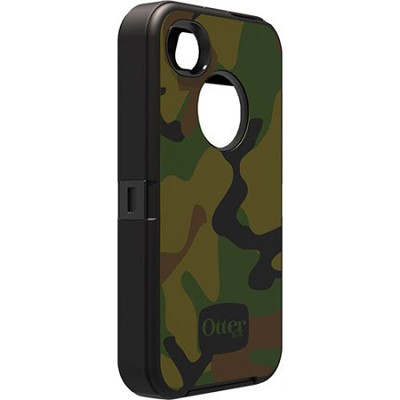 Defender Series Case for iPhone 4/4S - Jungle Camo