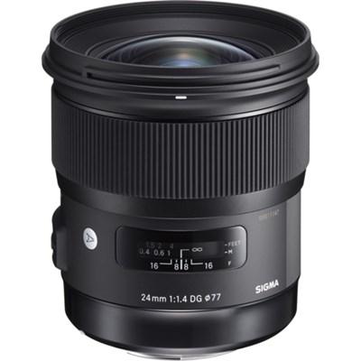 24mm f/1.4 DG HSM Wide Angle Lens Art for Sony E Mount Full Frame Cameras 401965