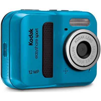 EasyShare Sport C123 12MP Blue Waterproof Dustproof Digital Camera