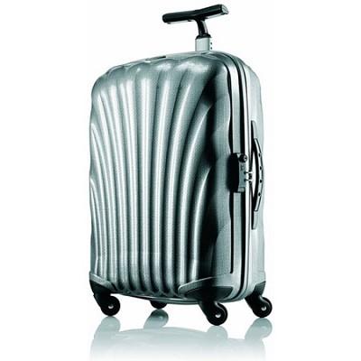 Black Label Cosmolite Hardside 27` Silver Spinner Suitcase